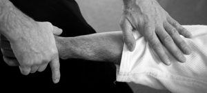 Take control of opponent's joint, martial arts technique